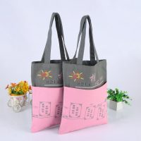 Jointed Tones Canvas Tote Bag