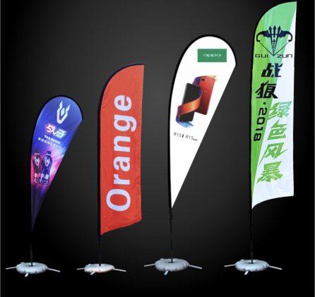 Outdoor Tear Drop/Flag Banner Custom