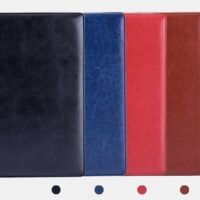 A4 Leather Conference Folder
