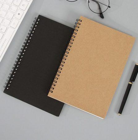 Kraft Paper Coil Notebook