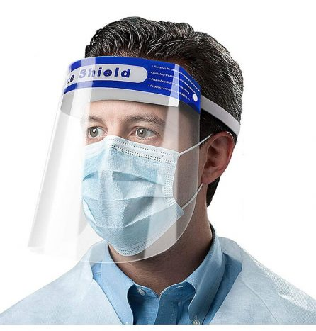 PET Anti-Fog Protective Face Shield with CE (Quality Type)