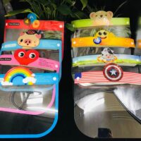 PET Anti-Fog Protective Kid's Cartoon Face Shield with Eyes Shield Prevent (CE Certificate) (3-10 Years Old)