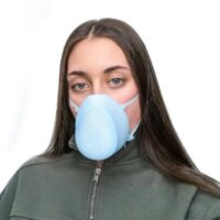 Reusable Silicone Filter Mask KN95/FFP2 (Extra Filters)