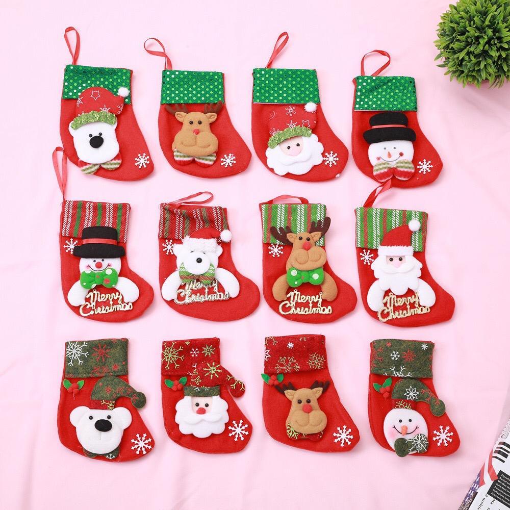 Christmas Stocking Decoration Gift Bag, Candy Bag